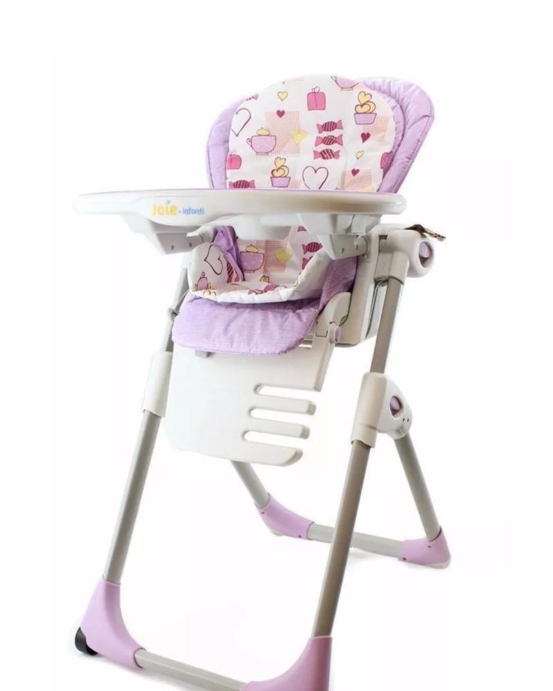 4dd4c77ee Silla Comer Bebe Infanti Joie Mimzy XL - Casa Mamita