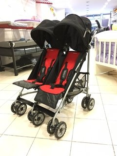 Coche Para Hermanitos Mellizos Infanti Twin Rm165