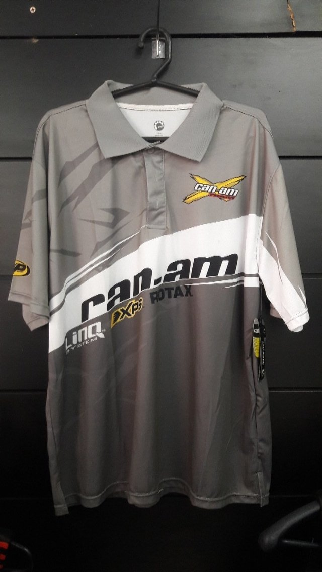 Polo X-race Can-am Masculino na internet