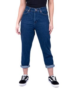 CALCA JEANS RETA CIGAR MOM RETRO - WF3657