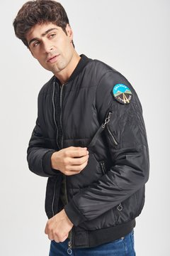 CAMPERA BOMBER PATCH