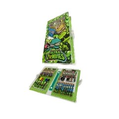 Set creativo arte Zombie Infection crayon marcador lapiz dibujo OM261