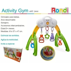 Gimnasio Bebe Activity Gym Rondi 3444 - comprar online