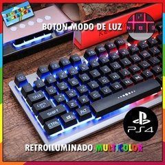 Combo Gamer Teclado K002 Mouse G3 Pro 3200dpi Auriculares N1 Nubwo Pad