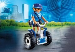 Playmobil City Action Mujer Policia con Sageway 6877