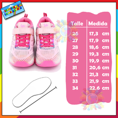 Zapatilla Footy con ruedas y luces led recargables ROLL396