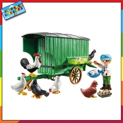 Playmobil Country Gallinero Granjero 70138 en internet