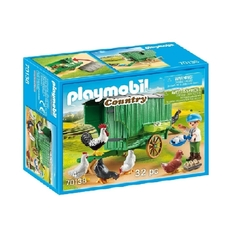 Playmobil Country Gallinero Granjero Y Gallinas 70138