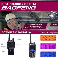 Handy Baofeng UV-82 dual band uhf vhf fm radio