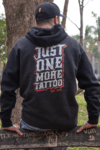MOLETOM JUST ONE MORE TATTOO na internet
