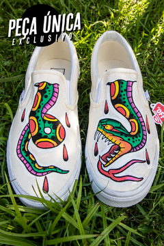 TÊNIS VANS EXCLUSIVO CUSTOMIZADO - SERPENTE - comprar online
