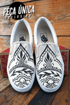 TÊNIS VANS EXCLUSIVO CUSTOMIZADO - MEHNDI