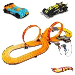 Mega pista Autorama Hot Wheels com 2 Controles (6,32m) BR083