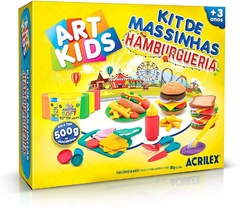 Kit de Massinha Hamburgueria 500g - Acrilex