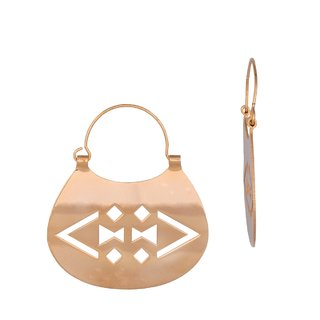 AROS MADRE RIO / EARRINGS #1502 - comprar online