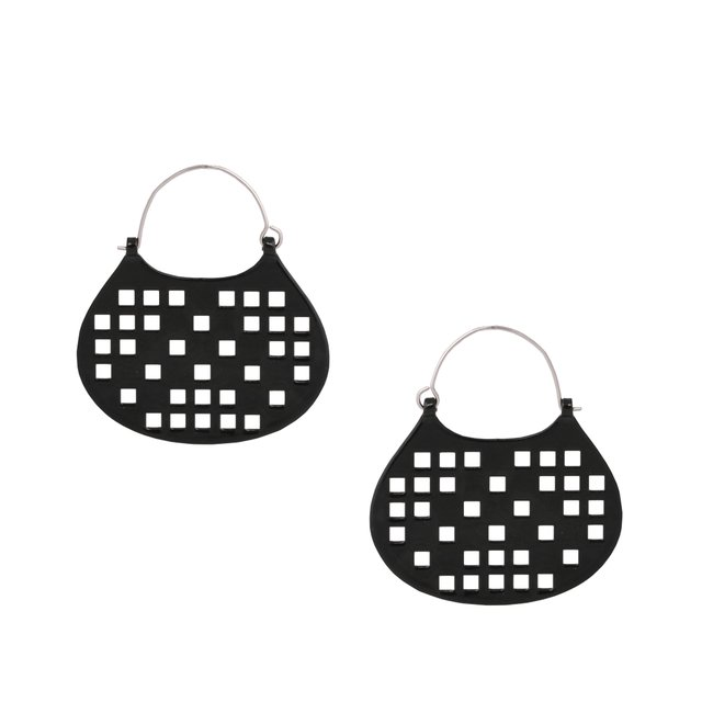 AROS CANASTA / EARRINGS RA3702 - comprar online