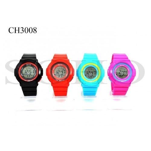 df875d8ee43a Reloj Soho Digital Mujer Y Niños Sumergible 1 Año De Garanti