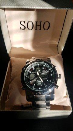 55a7a7076b4b Reloj Dakot Sumergible Ideal Natacion C  Luz Y Estuche