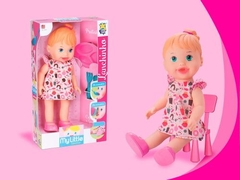 Boneca Baby My Little Collection Alive Lanchinho Divertoys