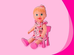 Boneca Baby My Little Collection Alive Lanchinho Divertoys na internet