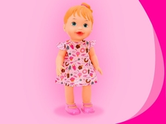 Boneca Baby My Little Collection Alive Lanchinho Divertoys - comprar online