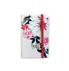 Notebook Small - Floral with Light Pink Background - measure 9x14cm