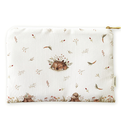 Necessaire Animals in the Forest - White - Measure 23x16cm