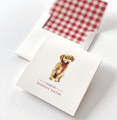 Cartão Golden Retriever 10x10 - buy online