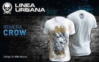Remera Algodon Fight Effect Crow Mma Ufc Kick Thai Nogi Bjj en internet