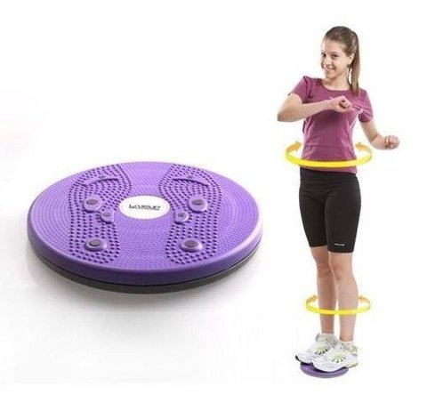 Disco Figure Twister Reductor Cintura Gym Fitness