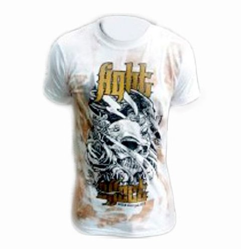 Remera Algodon Fight Effect Crow Mma Ufc Kick Thai Nogi Bjj