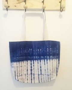 Bolso Tote bag shibori Blue