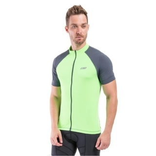 Blusa Ciclista MC Luminous Light Verde Fluor. Masculino - Sol Sports