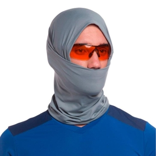 Bandana Tube Cinza Unissex - Sol Sports