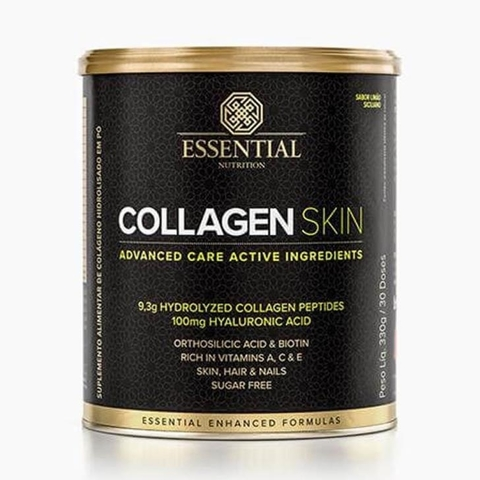 Collagen Skin 330g Limão Siciliano - Essential Nutrition