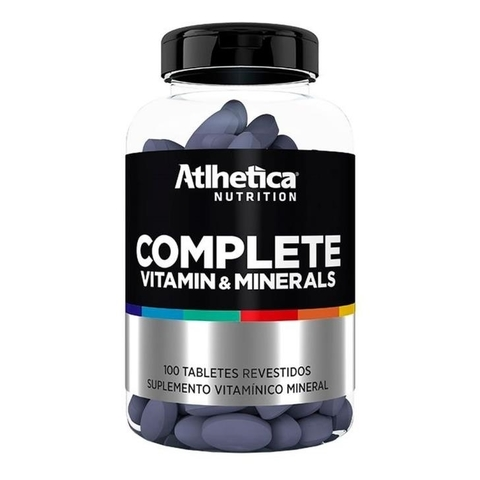 Complete Vitamin & Minerals 100tabs - Atlhetica Nutrition