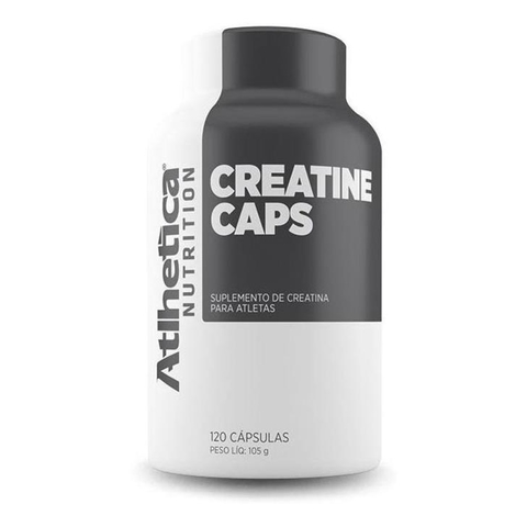 Creatina 120caps - Atlhetica Nutrition