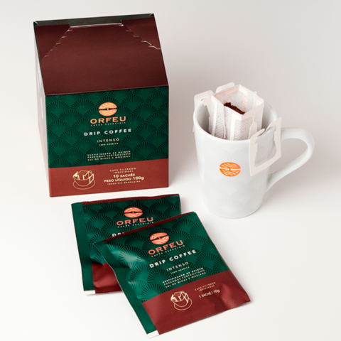 Drip Coffee Intenso Sachê 10g - Orfeu