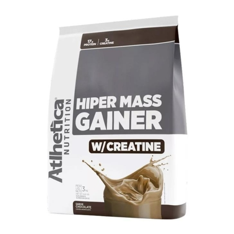 Hiper Mass Gainer 3kg Chocolate - Atlhetica Nutrition