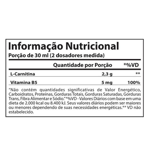 L-Carnitina 2300 960ml Limão - Atlhetica Nutrition na internet