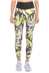 Legging High Performing Estampada Verde - Live!