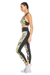 Legging High Performing Estampada Verde - Live! - Pepplay Esportes