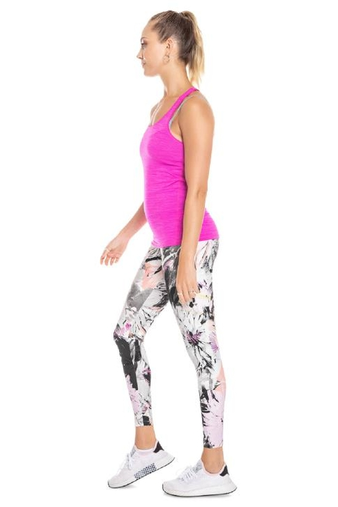 Legging Sketch Flowers Abstract - Live! na internet