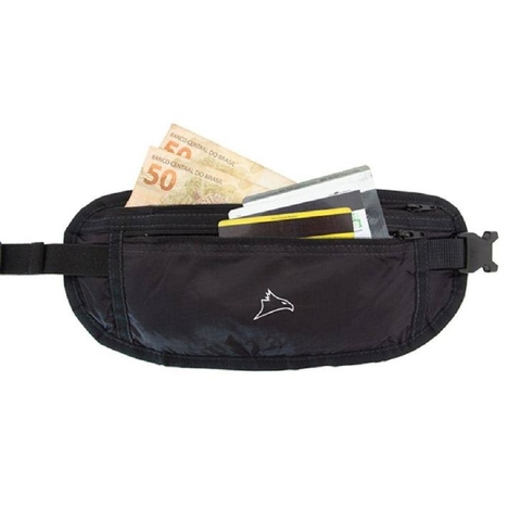 Pochete Money Belt Trip Preto - Conquista