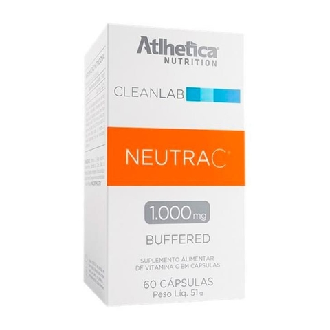 Neutra C 1000mg 60caps - Atlhetica Nutrition