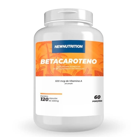Betacaroteno 600mcg 120 caps - New Nutrition