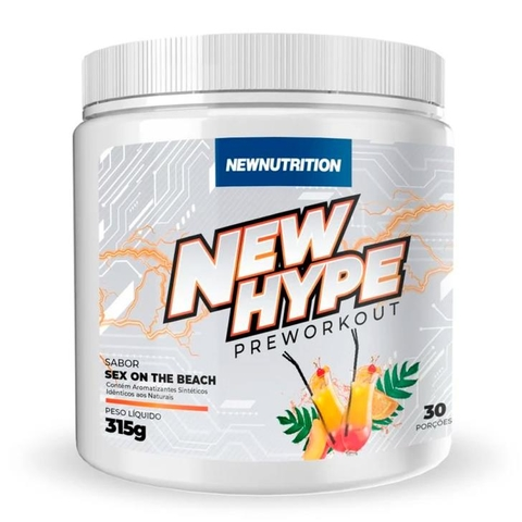 New Hype Preworkout 315g Sex On The Beach - New Nutrition