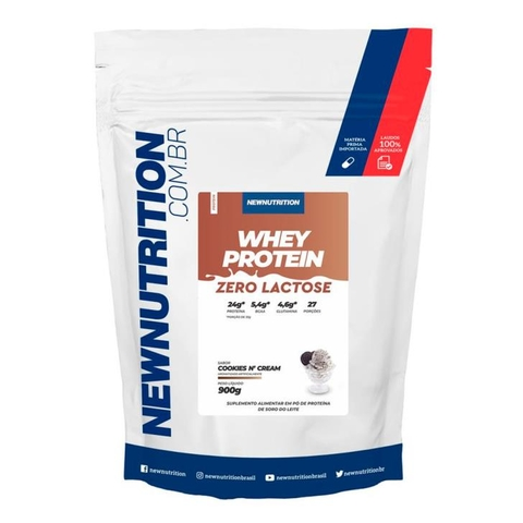 Whey Zero Lactose 900g Cookies - New Nutrition