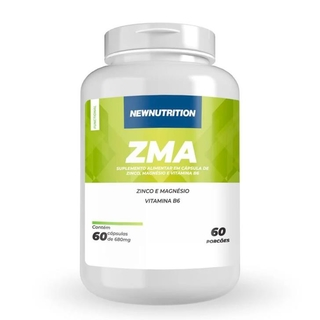 ZMA 590mg 60 caps - New Nutrition