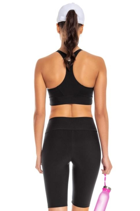 Top Termo Workout Preto - Live! - comprar online